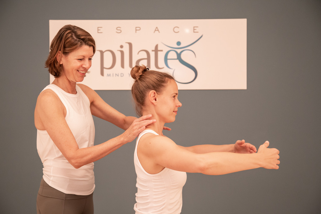 Private Pilates class in the center of Lausanne - Espace Pilates Mind Your Body